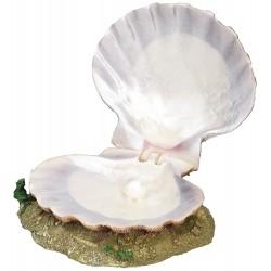 Coquille perle avec sortie d'air pour aquarium Décoration et autre  Trixie TR-8808