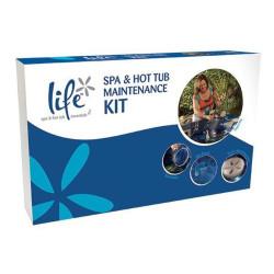LIFE Kit Entretien Accessoires Spa & Jacuzzi - Inclus Filet & Eponge Ecume PSY-400-0002 Kit entretien