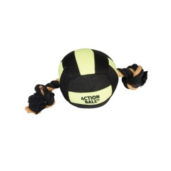 Flamingo FL-5345438 aquatic ball for Dog Black/Yellow 18 cm Jeux