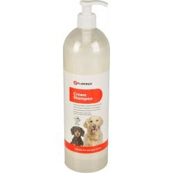 Shampoing Crème 1000 ml pour chien Soin et hygiène  Flamingo FL-1030844
