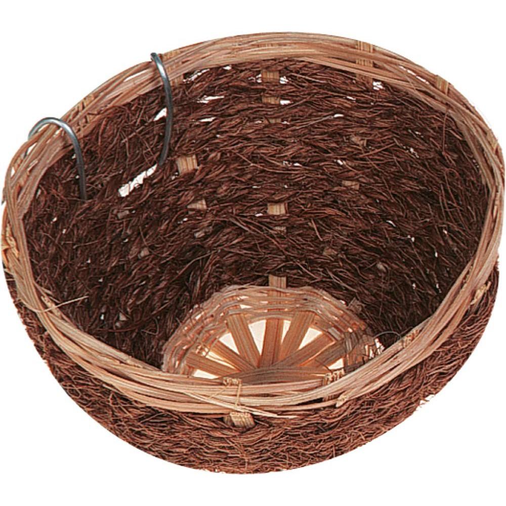 Flamingo Nid Bambou/Coco pour Canaris 11 x 7 cm - oiseaux FL-100491 Produit nid oiseaux