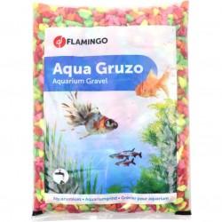 Gravier brillant Néon rainbow 1 kg Décoration et autre  Flamingo FL-410087