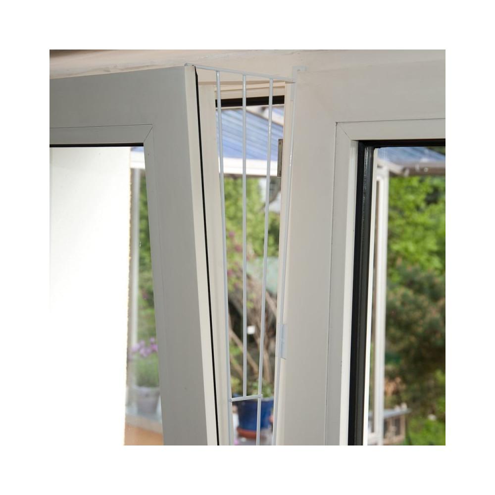 Grille de protection pour fenêtre (oscillo-battant) metal (coté) Sécurité Trixie TR-4416