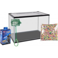 aquarium complet lollipop 30 Litres 44 x 28 x 30 cm Aquariums Flamingo FL-410075
