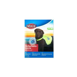 Gilet de sécurité jaune pour chien taille S Sécurité chien Trixie TR-30081
