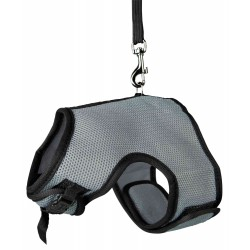 Soft harness with leash 1.2 m for large rabbits Collars, leashes, Trixie harness TR-61514