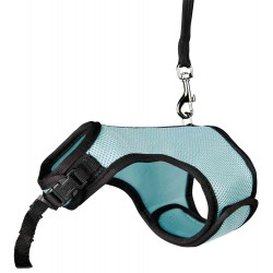 Soft harness with leash 1.2 m for rabbits Collars, leashes, Trixie harness TR-61513