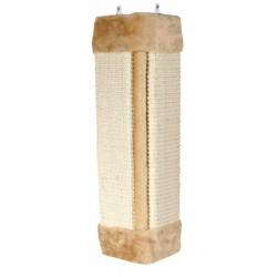 Griffoir d'angle naturel beige 23 x 49 cm Arbre a chat, griffoir Trixie TR-43191