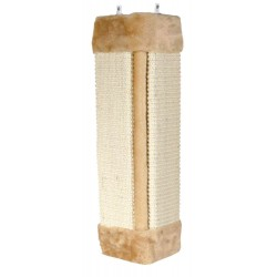 Griffoir d'angle naturel beige 23 x 49 cm Arbre a chat, griffoir Trixie TR-43191