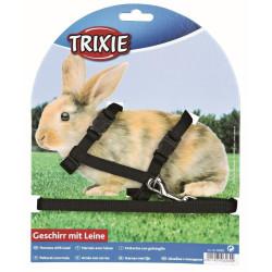 TR-6260 Trixie Harnais avec laisse pour lapins Collares, correas, arneses