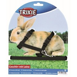 Harness with leash for rabbits Collars, leashes, Trixie TR-6260 harness