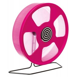 Exercise wheel for Hamster, Diameter: 28 cm, Random Colour Games, toys, Trixie activities TR-61011