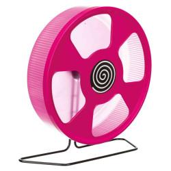 Trixie Trainingsrad für Hamster, Durchmesser: 28 cm, Zufallsfarbe TR-61011 Spiele, Spielzeug, Aktivitäten