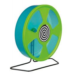 TR-61011 Trixie Rueda de ejercicios para el hámster, diámetro: 28 cm, color aleatorio Juegos, juguetes, actividades