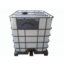 an IBC 1000L tank for water reserve (no delivery in Corsica or island) ibc tank Jardiboutique IN-SIBC1000