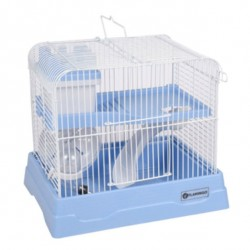 Flamingo FL-210149 Cage for dinky hamster blue 30 x 23 x 23 x 26 cm Cage