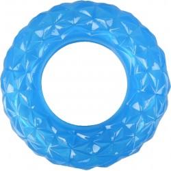 Flamingo Hundespielzeug. Ring zum Füllen mit Süßigkeiten. 13 cm blau FL-518647 Belohnen Sie Süßigkeiten-Spiele