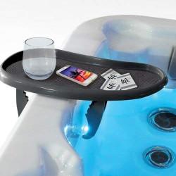 LIFE Bar à clipser sur le rebord de votre spa ou jacouzzi Accessoire pour spa