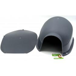 FL-210157 Flamingo igloo en plastique Jink pour rongeur 36x26x16CM Camas, hamacas, nidos