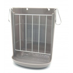 Hay rack and bowl for rodents 15 X 18 X 18 X 12 CM for rabbits Flamingo accessory FL-210140