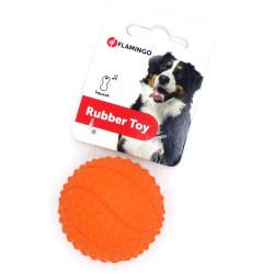 1 Balle en caoutchouc ø 5.5 cm pour chien Jeux Flamingo FL-517938