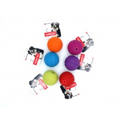 Flamingo 6 Balles en caoutchouc ø 5.5 cm pour chien FL-517938-x6 Jouet