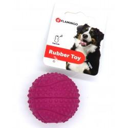 6 Balles en caoutchouc ø 5.5 cm pour chien Jouet Flamingo FL-517938-x6