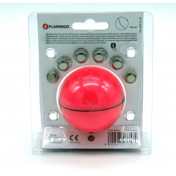 FL-560645 Flamingo Balle led magic rose pour chat ø 6.5 cm Juegos