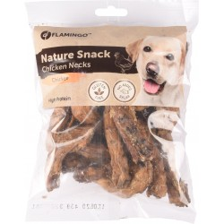 Flamingo FL-518641 Natural treat for dogs. Chicken neck 200 gr Nourriture