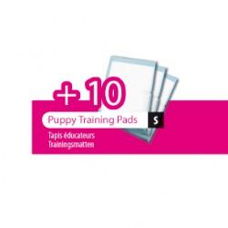 Plateau éducateur pour chiots M 60 x 40 cm + 10 tapis absorbant éducation propreté chien Flamingo FL-507675