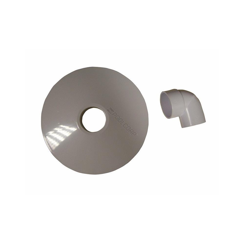 Générique  SKIMVAC SKIMMER WELTICO 80174 SC-WEL-251-0008 Plaque aspiration skimmer