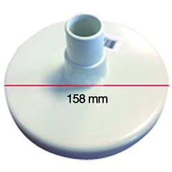 Couvercle aspiration skimmer - SKIMVAC OLYMPIC ACM89 - K012PBH6/W Plaque aspiration skimmer kokido SC-PSL-251-8014