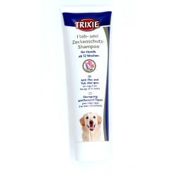Trixie Shampoing anti-puces et tiques pour chiens 250 ML TR-25393 Shampoing