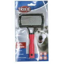 Trixie Soft brush for animals 10 x 17 cm. for dogs. Brosse