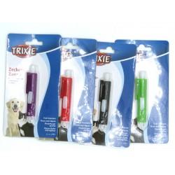 une Pince anti-tiques couleurs aléatoire. Soin et hygiène  Trixie TR-2381