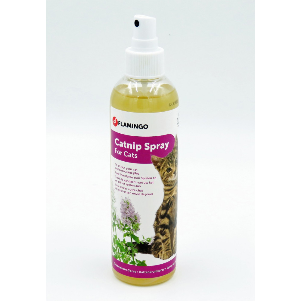 Catnip en spray 250 ml pour chat Jeux Flamingo FL-39469