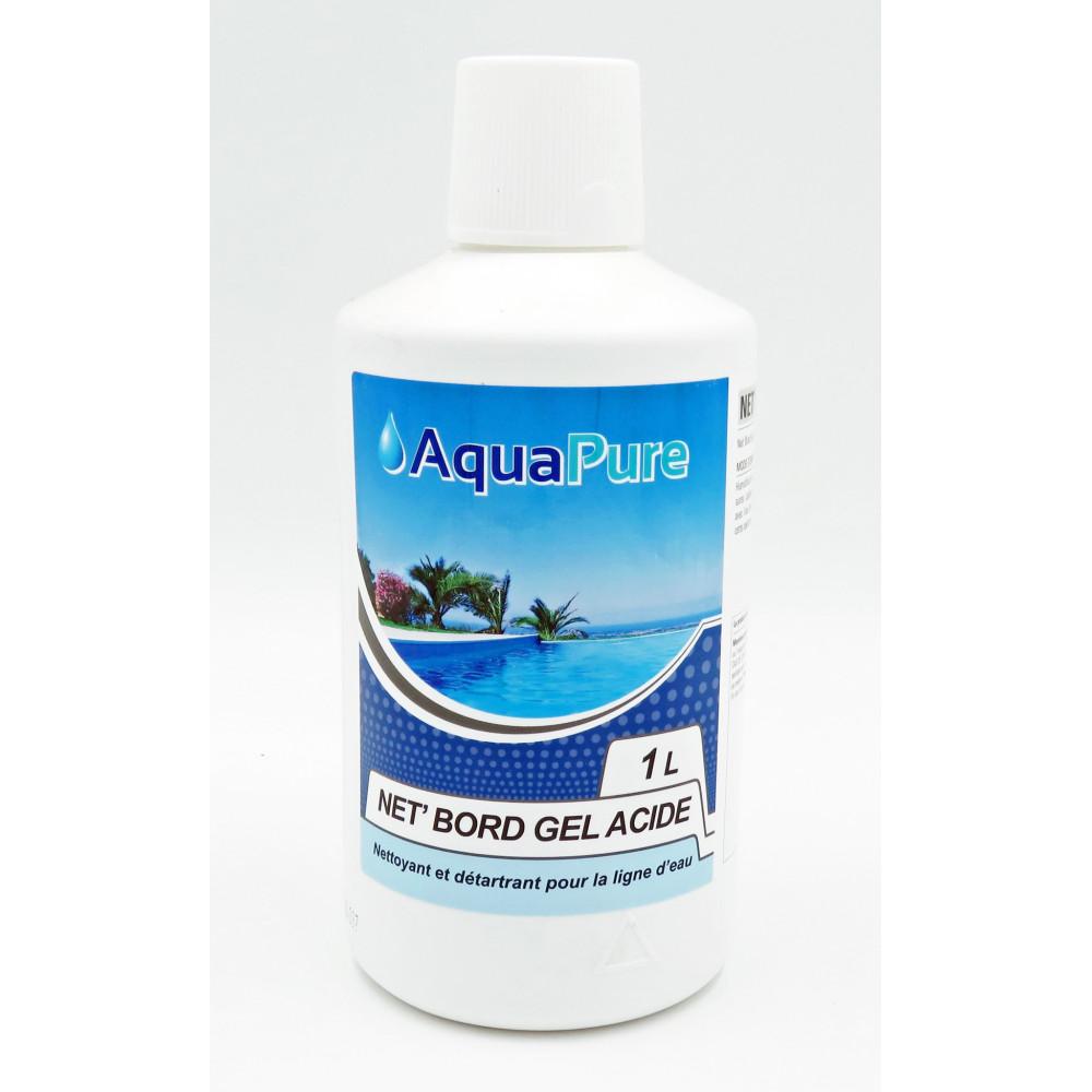 Jardiboutique Nettoyant ligne d'eau en gel pour piscine 1 litre BP-51438973 Produit de traitement