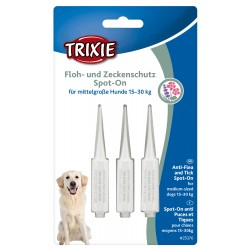 Trixie TR-25376 Spot-On tick and flea protection for dogs weighing 15- 30 Kg Pest control pipettes