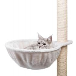 Nid confort XL pour arbre à chat, ø 45 cm gris clair Arbre a chat, griffoir Trixie TR-43911