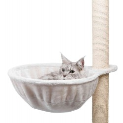 Trixie ø 45 cm Nid confort XL pour arbre à chat, gris clair TR-43911 SAV Arbre a chat