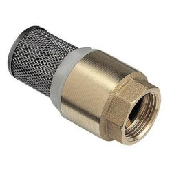 "Jardiboutique Valve with strainer ""YORK"" 3/4, in brass, for watering pumping strainer valve"