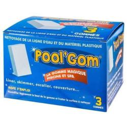 3 boites Pool Gom nettoyage de la ligne d'eau piscine (lot de 9 pieces) Brosse toucan BP-51439007-x3