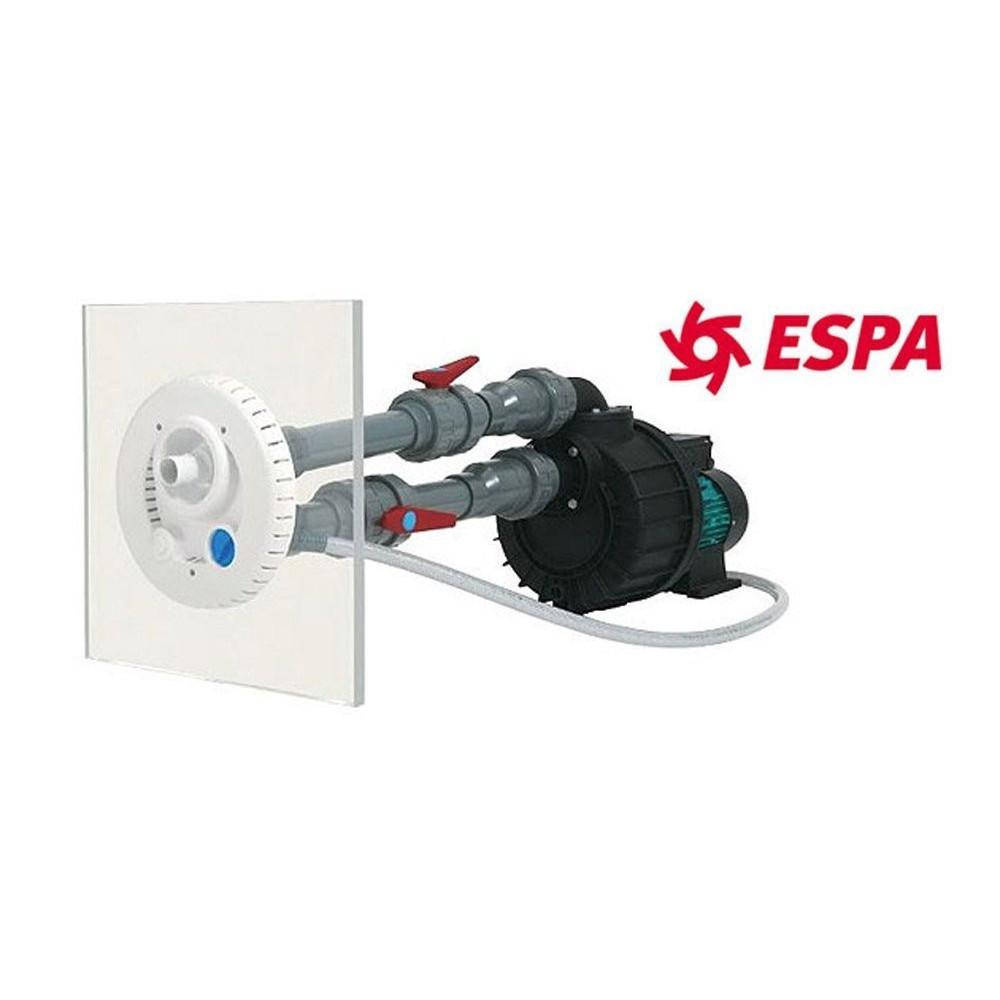 ESPA Kits Complet nage en Contre Courant Piscine - Nadorself 300 Mono - NCC - 63 m3/Heure IN-SPNCC300MO nage en Contre Courant