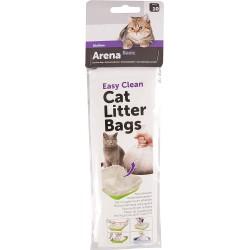 FL-500776 Flamingo Bolsas de higiene para las papeleras de los gatos. Juego de 10 piezas. accesorio de cama