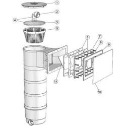 Volet Skimmer A300 & 142 x 128 Mm - Weltico Volet de skimmer weltico BP-59933787