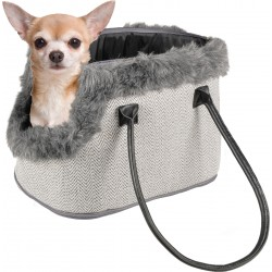 Flamingo Pet Products Esmée dog carrier, 52 x 25 x 26 cm, for small dogs. transport bags