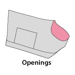 Sac de transport odette 53 x 25 x 28 cm pour petit chien Transport Flamingo FL-518530