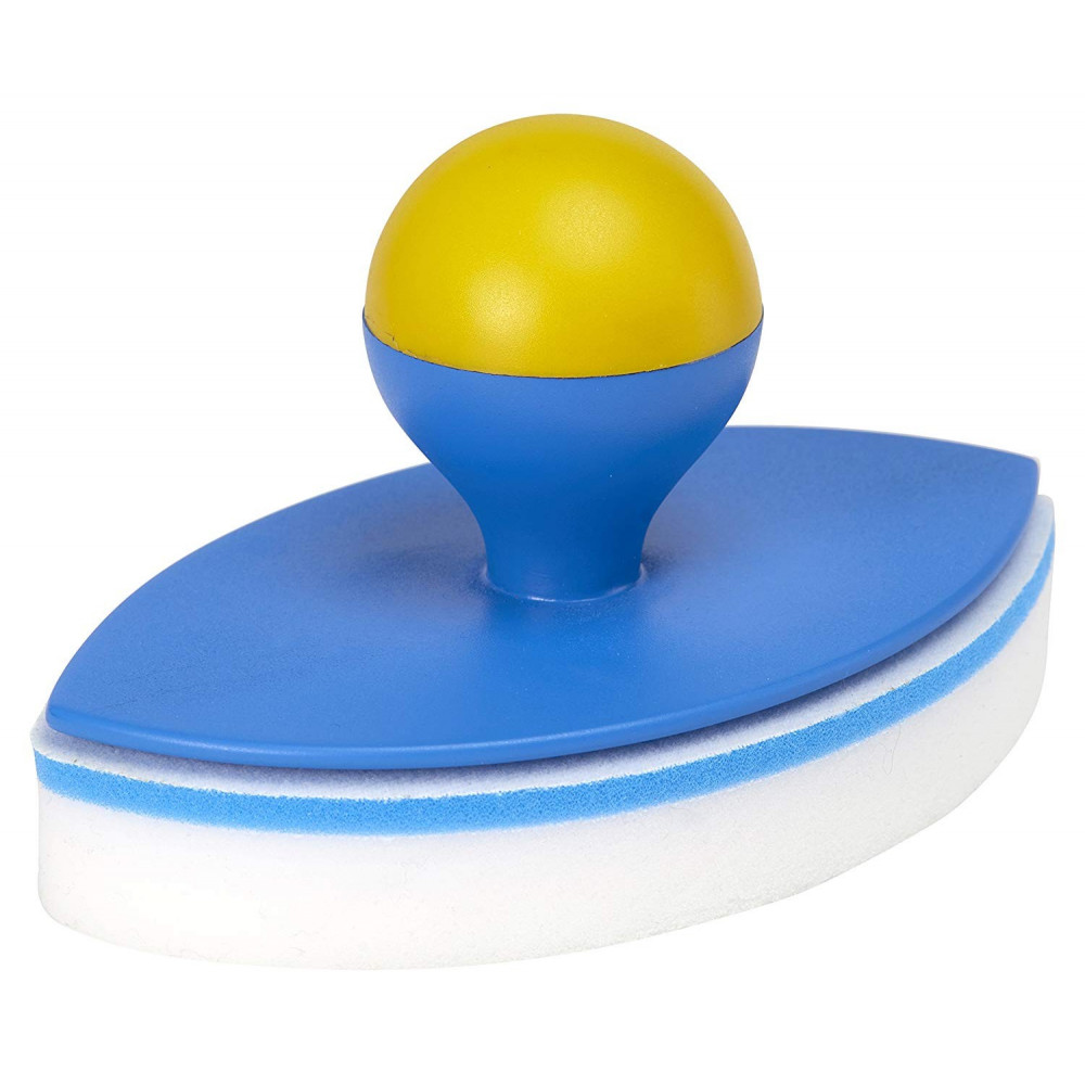 Easy Pool'Gom PGES30 Gomme Nettoyant Ligne d'eau et Angles Piscines et Spas, Blanc, 11.2 x 18.4 x 10 cm Brosse toucan SC-TOU-...