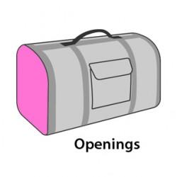 Sac de transport Chloé 2 45 x 26 x 26 cm Accessoire Flamingo FL-518622