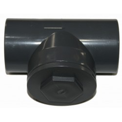 Interplast IN-SCAR063 ø63 Swing check valve, PVC pressure - Non-return valve flap